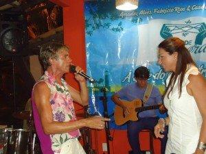 Dino Brasil e Luiza Santana