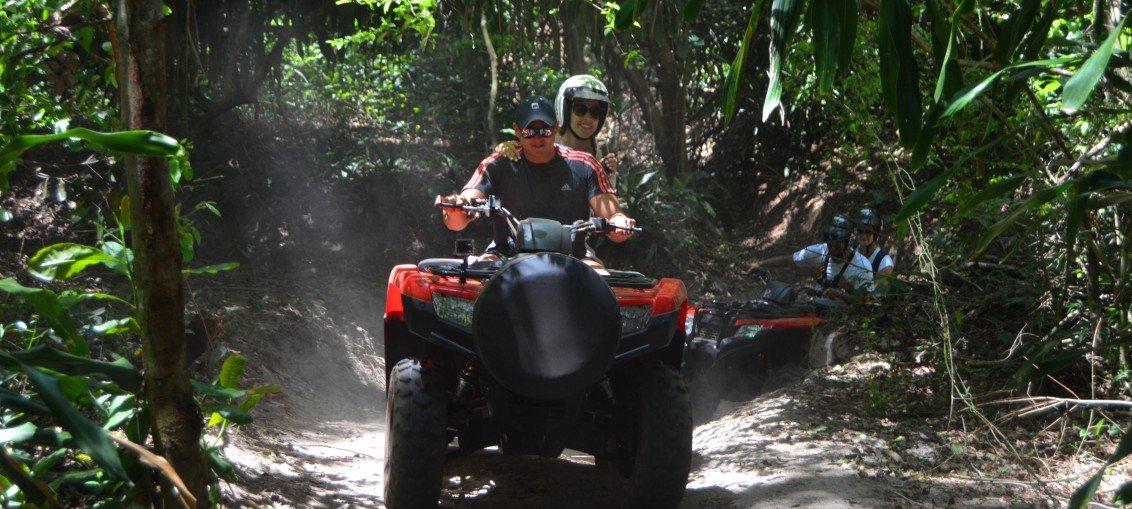 Quadricíclo na Reserva Sapiranga!